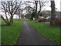 NT1884 : Fife Coastal Path at Aberdour by M J Richardson