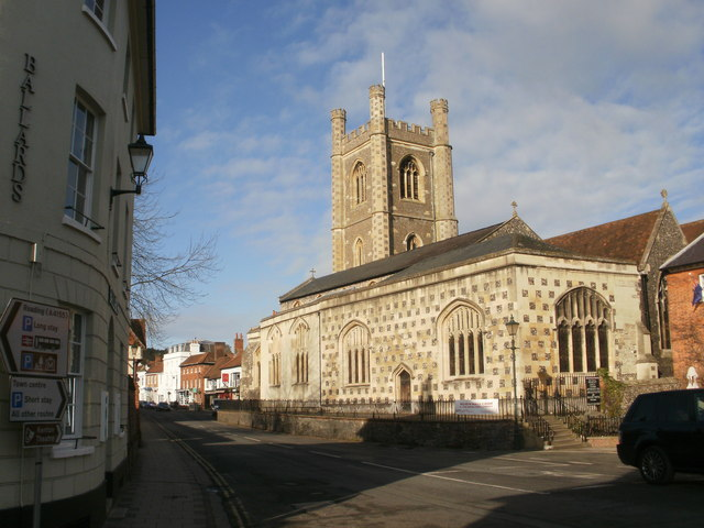 Church at Henley-on-Thames by Peter S