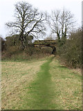 SK3442 : Duffield - footpath from Church Walk to Makeney Road by Dave Bevis