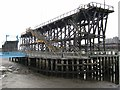 NZ2362 : Dunston Coal Staithes (east end) by Andrew Curtis