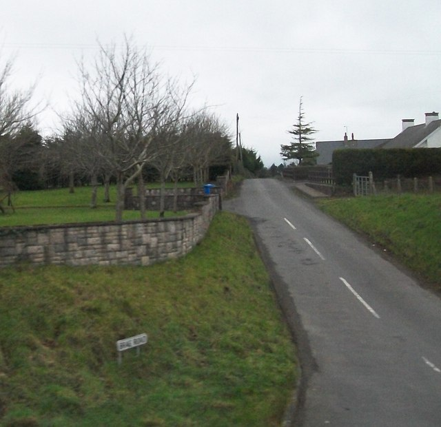 Brae Road from the A24