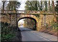 SJ4260 : Footbridge over the B5130 (Chester Road) by Jeff Buck