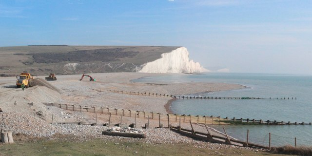Rebuilding Cuckmere Haven Beach 169 Oast House Archive