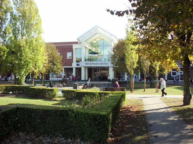 The Howard Centre Welwyn Garden City centre