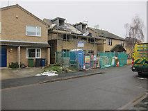 TL4660 : New houses, Pakenham Close by Hugh Venables