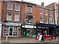 SO9570 : Bromsgrove High Street  UK Barber Shops, The Regency & Eyedeal Eyecareps, by Roy Hughes