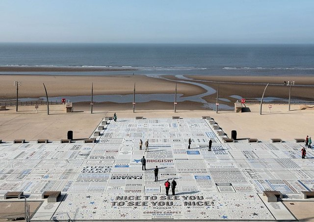 Comedy Carpet, Blackpool