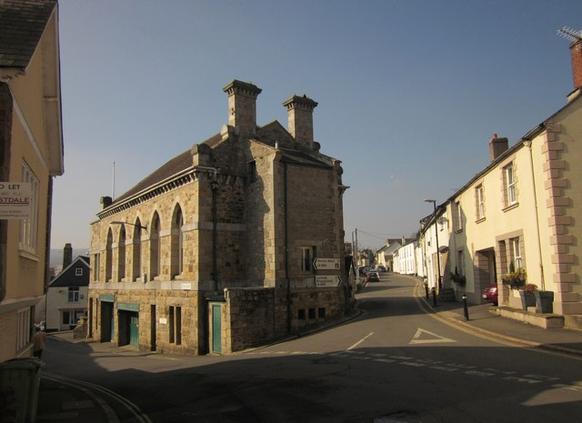 Town Hall, Bovey Tracey