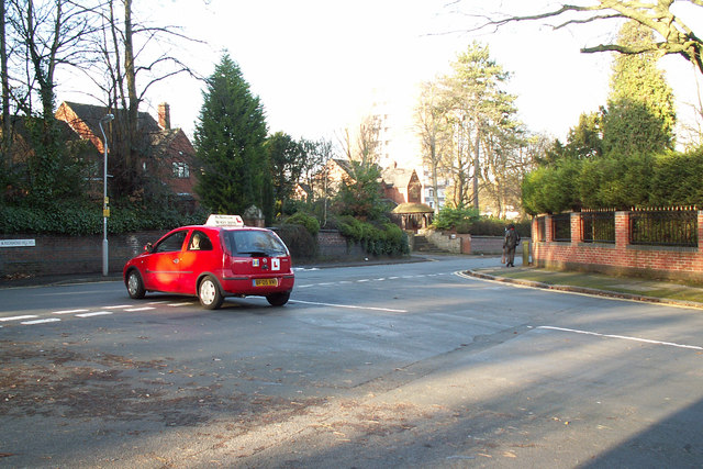 Junction of Farquhar Road with Richmond Hill Road
