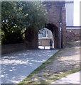 SP3379 : Cook Street Gate by Jo Turner