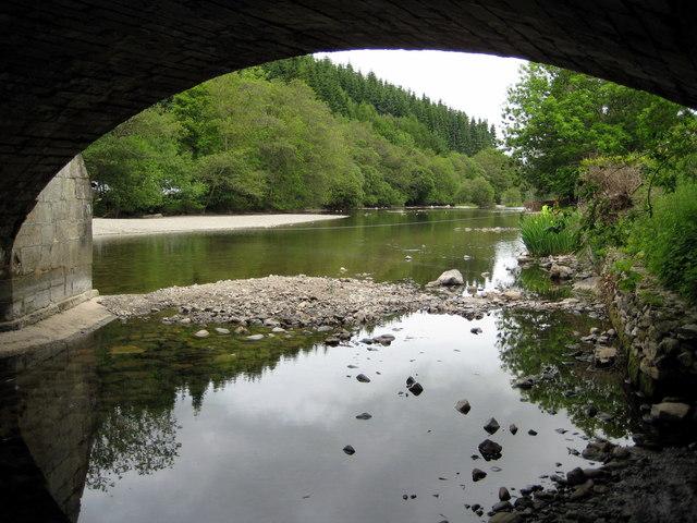 River Eamont at Pooley Bridge