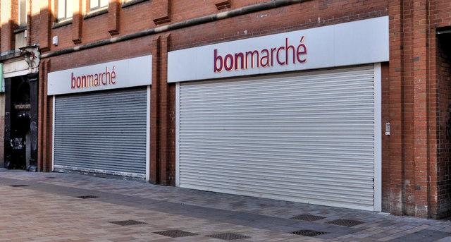 """Former """"bonmarché"""", Belfast"""