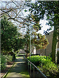 SO9096 : Footpath to Hayling Grove, Wolverhampton by Roger  Kidd