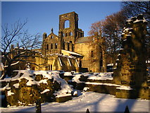 SE2536 : Kirkstall Abbey by Robin Mais