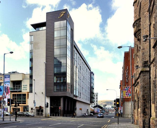 The Fitzwilliam Hotel Belfast 169 Albert Bridge Geograph