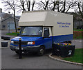 J5081 : Delivery van, Bangor by Rossographer