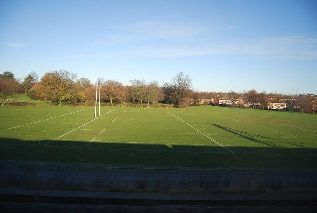 Rugby pitch, Wiggington Park