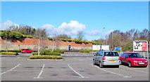 ST1774 : Ikea car park by Jonathan Billinger