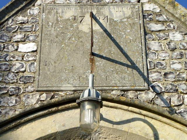 Sundial, St Leonard's Church