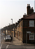 TQ2182 : Railway Cottages, Old Oak Lane by Martin Addison