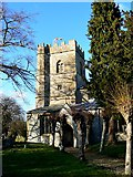 SU1872 : St Andrew's Church, Ogbourne St Andrew, near Marlborough by Brian Robert Marshall