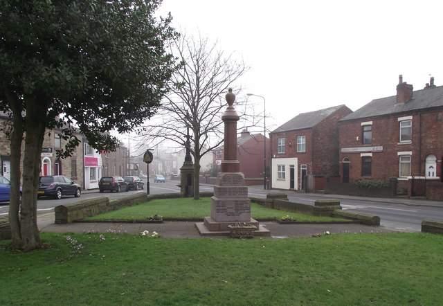 Standish war memorial