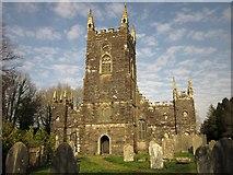SX3287 : Church of St Martin and St Giles, Werrington by Derek Harper
