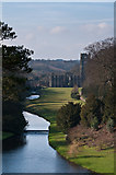 SE2768 : Fountains Abbey from the Surprise View by Ian Capper