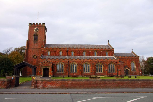 St Cuthberts Church in Lytham