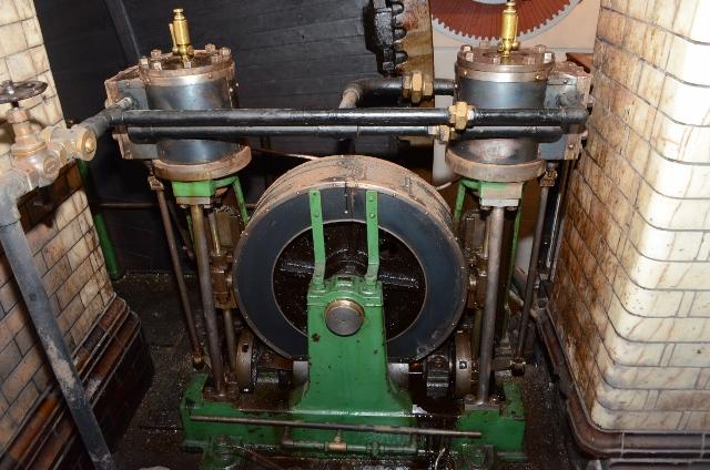 Ellenroad Mill Engine - Barring Engine