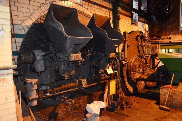 Ellenroad Mill Engine - Lancashire Boilers