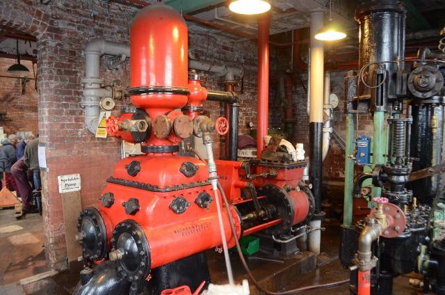 Ellenroad Mill Engine - Mill Fire Pump