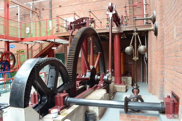 Bolton Steam Museum - Double Beam Engine