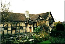 SP2055 : Shakespeare's birthplace, Stratford upon Avon by nick macneill