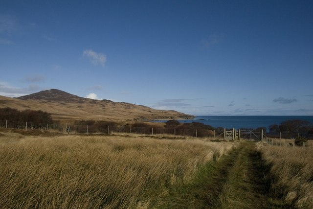 Deer Fence at Bunnahabhain, Islay