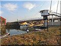 SO8217 : Gloucester Docks, High Orchard Bridge by David Dixon