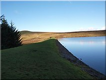 NS4477 : Black Linn Reservoir and Doughnot Hill by Alec MacKinnon