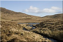 NR3977 : Allt Mor and Dubh Loch, Islay by Becky Williamson