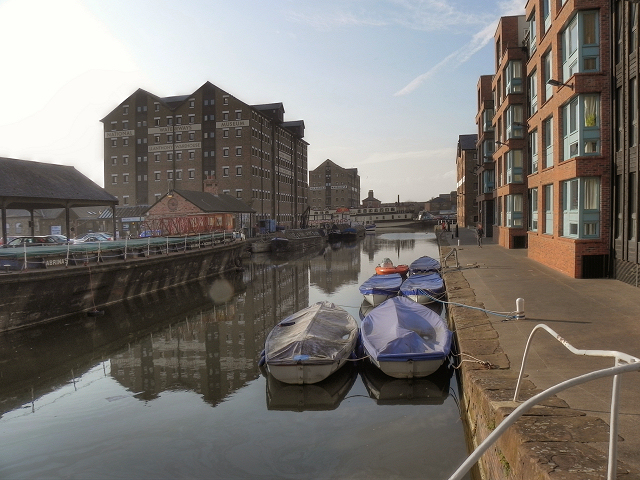 The Barge Arm, Gloucester Docks
