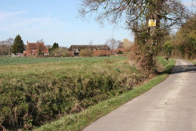 Near Newnham, Hampshire