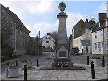 ST7593 : War Memorial, Wotton under Edge by David Dixon