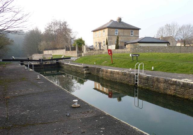 Weston Lock, Bath, Somerset