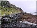 NG4968 : Shoreline near Staffin Pier by Hilmar Ilgenfritz