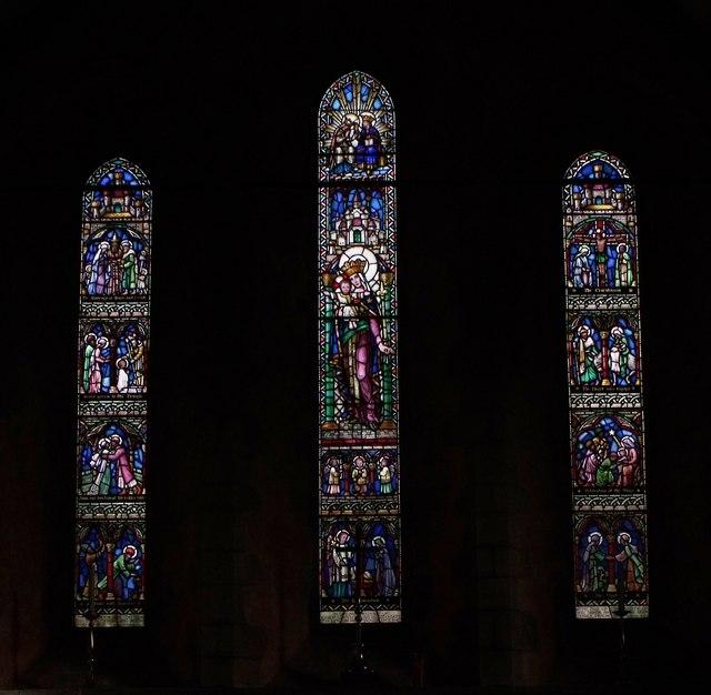 Triple lancet windows, St. Mary's, Barnham