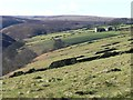 SE0907 : The northern side of Marsden Clough by Christine Johnstone