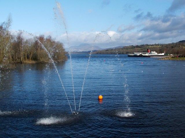 Loch Lomond from Lomond Shores