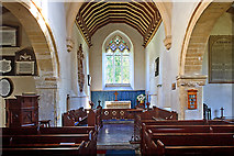 SU1872 : St Andrew's church - Ogbourne St Andrew (interior) by Mike Searle