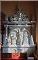 SU2675 : Monument to Richard Goddard - St Michael's church, Aldbourne by Mike Searle
