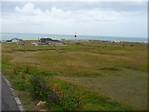 SY6768 : Portland Bill - Buildings On the Bill by Chris Talbot