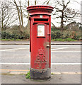 J3572 : Pillar box, Belfast by Albert Bridge
